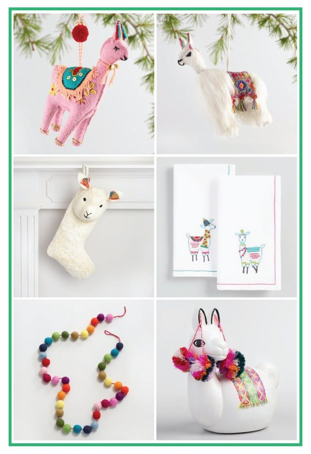 No drama Llama Holiday Gift Swap | Holiday Party Ideas from AmysPartyIdeas.com | Golden Llama Treasure Hunt at Cost Plus World Market #GiftThemJoy #ad