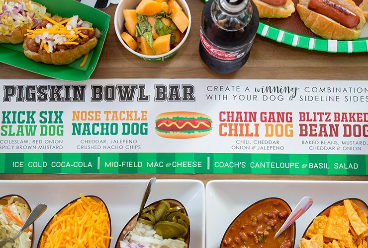 Bowl Game Watch Party + Pigskin (Hot Dog) Bar